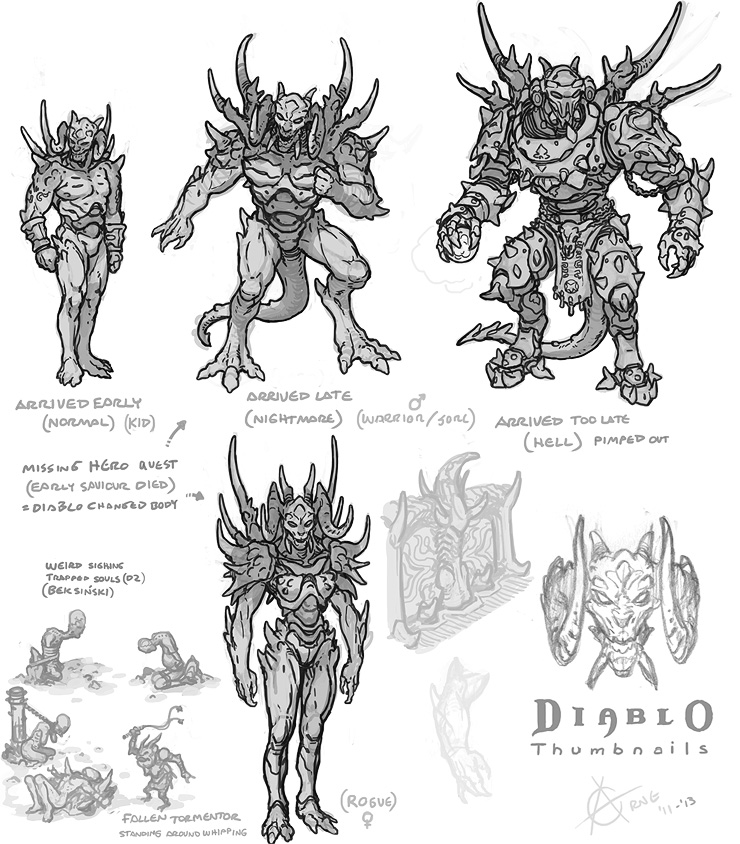 Diablo Shrine Concept Art